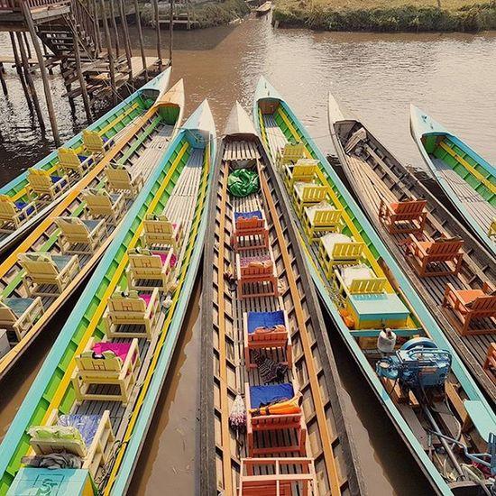 INLE LAKE Inle Inlelake Myanmar Lake Igersmyanmar AOV Artofvisuals Instagood Instagram Boats Burma Asiaonetravelsnaps Yourworldgallery
