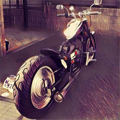 Honda Magna50 Moterbike マグナ50 Motercycle