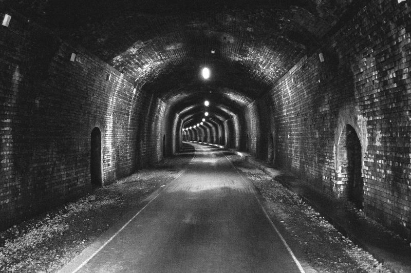 The Way Forward Built Structure Arch Architecture Indoors  Day No People Black And White Travel Destinations Outdoor Photography Tunnel View Headstone Tunnel Copy Space Blackandwhite Photography Mistery Atmosphere Unknown Tranquil Scene