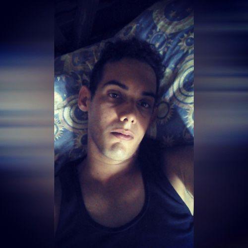 Before the work, Tired Bed Precius Eyes Single Selfie