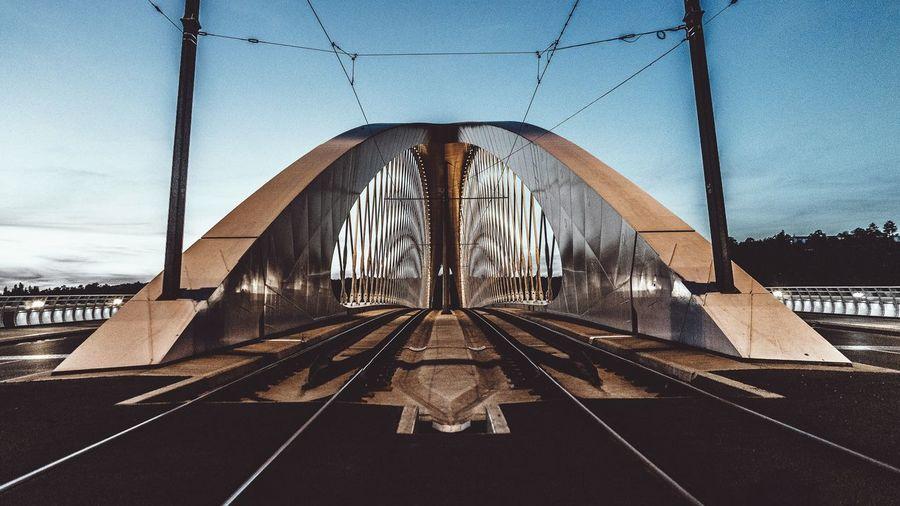Urban Geometry Cityscapes Architecture Modern Bridge Night First Eyeem Photo