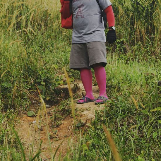 Low Section Grass One Person Day Human Leg Field Standing Casual Clothing Outdoors Lifestyles Human Body Part BYOPaper! Live For The Story The Street Photographer - 2017 EyeEm Awards Pink Socks Fuschia Colorful Socks Mix Yourself A Good Time Connected By Travel Rethink Things Second Acts Be. Ready.