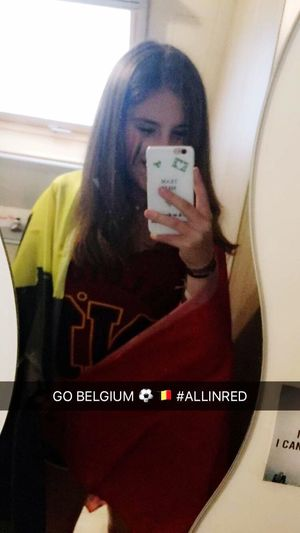 BELGIUM 🇧🇪⚽️ Belgium RedDevils Voetbalwijf Check This Out Wazig