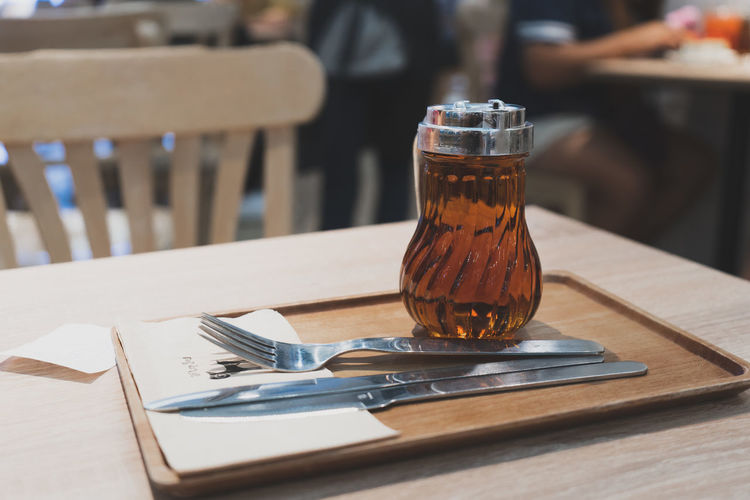 The Honey Dessert Alcohol Cafe Close-up Day Drink Drinking Glass Eating Utensil Focus On Foreground Food And Drink Glass Honey Household Equipment Kitchen Utensil Menu No People Refreshment Still Life Sunlight Sweet Table Tray Wood - Material First Eyeem Photo