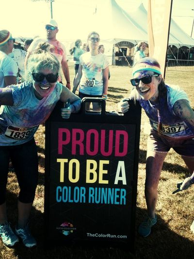 Color Run Fun! First Eyeem Photo
