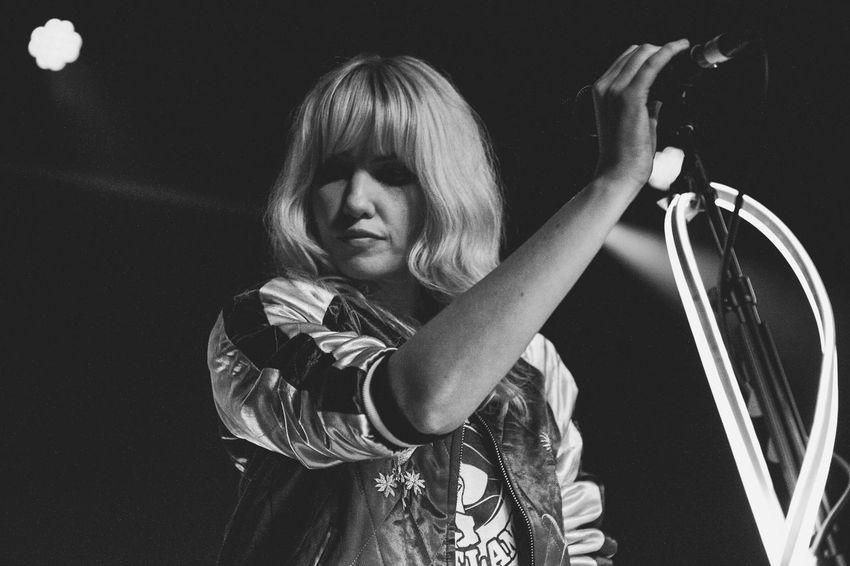 Ladyhawke live at Scala Taking Photos Eye4photography  Music London Music Photography  EyeEm Best Shots Black And White Photography Black And White The Portraitist - 2016 EyeEm Awards