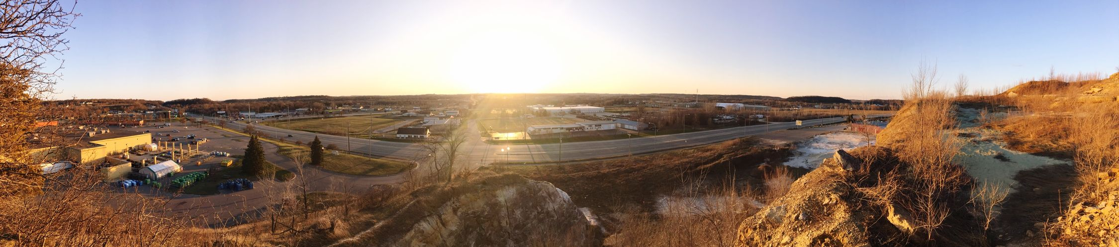 Cliff view of Rochester, MN First Eyeem Photo