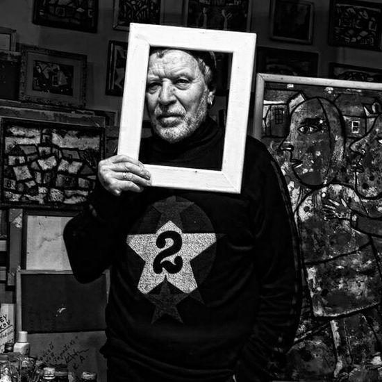 Portrait Russians Painter Monochrome Black & White Russian Blackandwhite Photography Face Of EyeEm