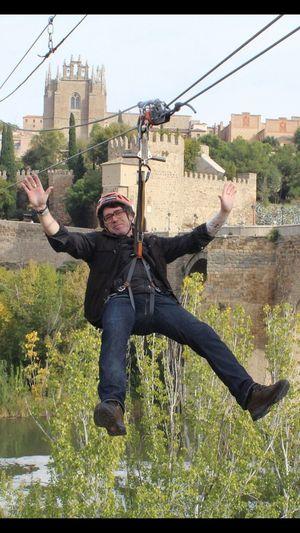 Tirolina Volando Voy... Toledo Spain