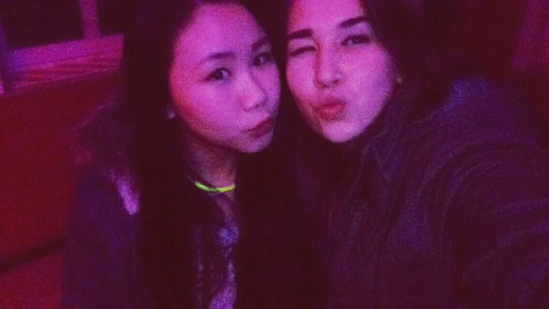 With my Asian  Friend at a Party <3. ( Silvester)