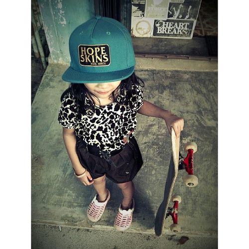 Snapback Hopeskins Skateboard Kids leopard
