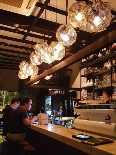 Korean Bar Lighting Interior Design Sg_streetphotography Streetphotography Singapore