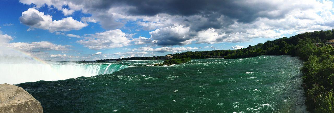 Niagara Rainbow Storm