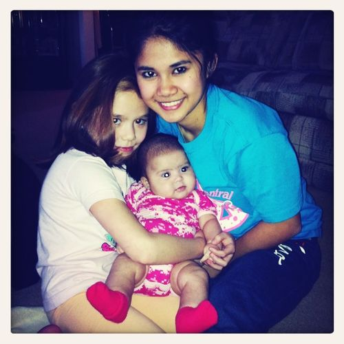 My niece Avery and sister Grace!:)