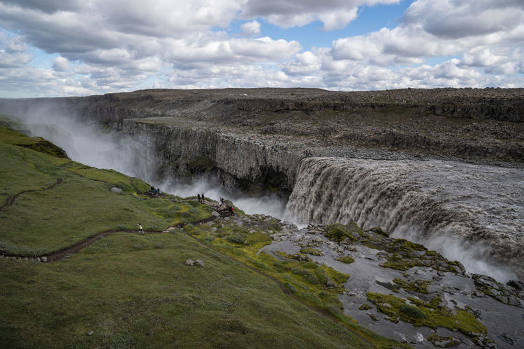 Beuatiful Nature Glacier River Iceland Mountain View Mountian  Raging River Rock Stone Wall Tremendous Atemberaubende Natur Beauty In Nature Cloud - Sky Clouds And Sky Environment Flowing Flowing Water Iceland 2018 Island Island 2018 Land Landscape Lava Stone Lava Stones Long Exposure Motion Mountain And Clouds Mountain And Sky Nature No People Non-urban Scene Outdoors Power In Nature Powerful Waterfall Rock Stones Scenics - Nature Silent Moment Sky Tranquil Scene Tranquility Tremendous Nature Viking Island Water Waterfall Waterfog Capture Tomorrow