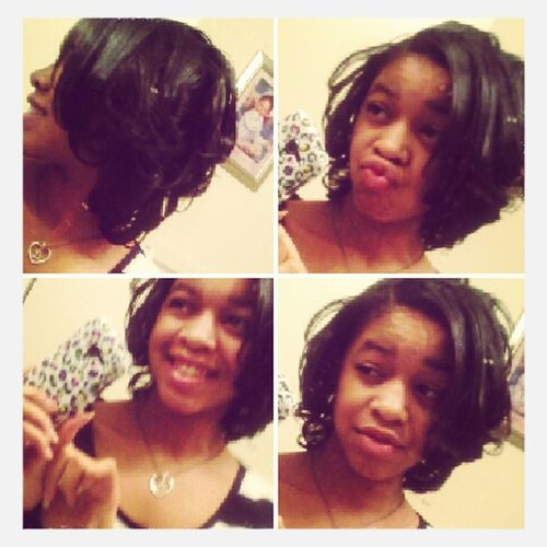 Just me and my hair..lookn Beautiful :*