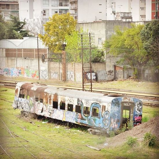 Trains Buenosaires Loves_buenosaires Loves_abandoned Loves_transports Subwayart Subway Subwaygraffiti