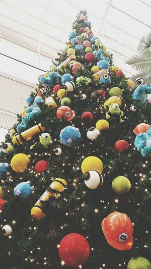 Christmas Christmas Tree Monsters INC Holydays Christmas