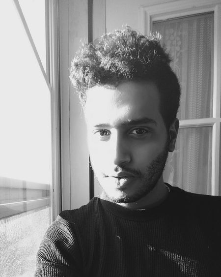 Faces Of EyeEm Hello World That's Me Arab Kuwaiti Newyork Blackandwhite Selfie Self Portrait ILoveMyself