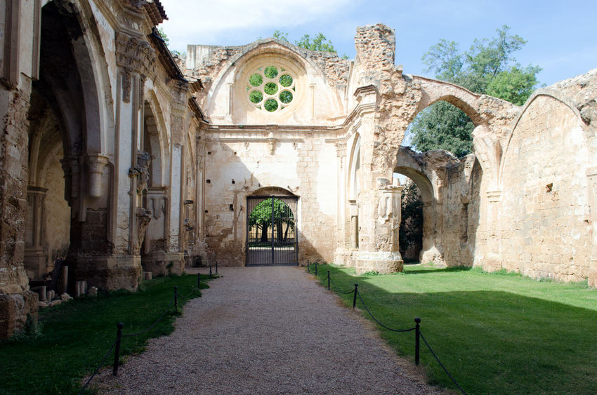 Monasterio de Piedra 2015  Arch Architecture Building Exterior Day Eddl History Medieval Monasterio De Piedra Monastery Monastery Of Stone No People Outdoors Sky Travel Destinations