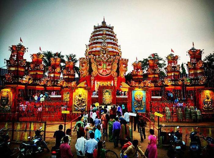 Durgapuja Burdwan Tweegram Pandalhopping Ashtami Durga Pujapandal