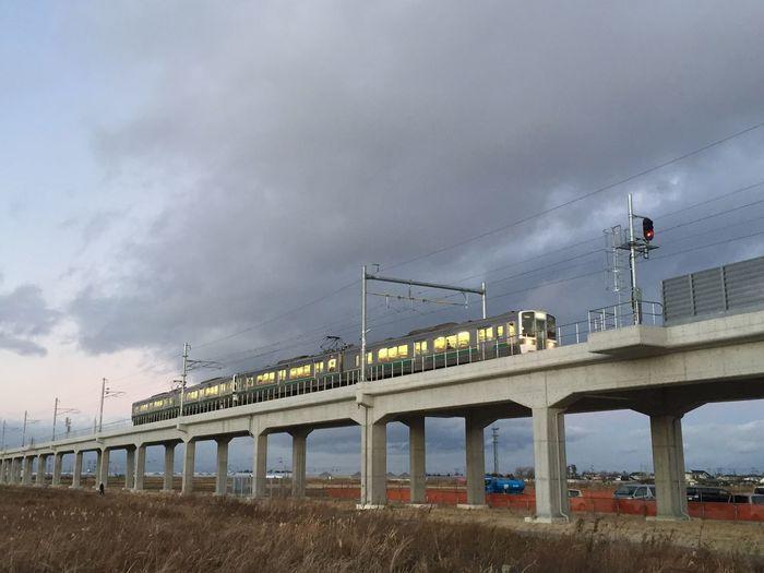 Rail Transportation Outdoors No People First Eyeem Photo