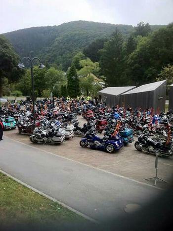 Austria Mountains Taking Photos Motorcycles Honda Goldwing Sky