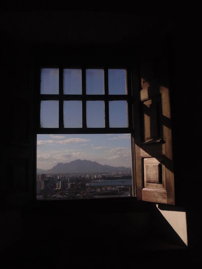 Architecture City Cityscape High Indoors  No People Sky Window
