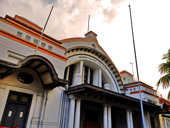 Post Office Jakarta Architecture Low Angle View