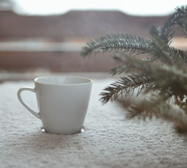 Mornigs Coffee Coffeetime Snow Snowfall Snowy Outdoors Countryside Nature Slowlife Drink Food And Drink Refreshment Selective Focus Coffee - Drink Table Close-up The Still Life Photographer - 2018 EyeEm Awards