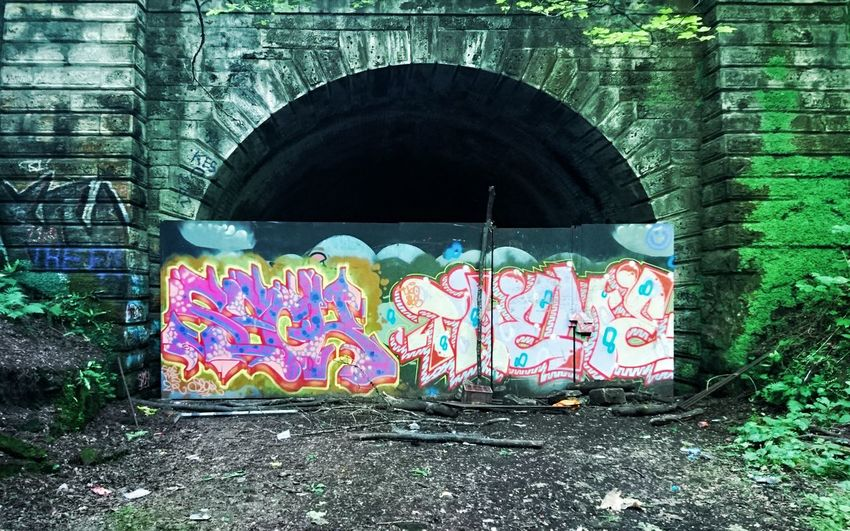 Abandoned Subway Line- Botanic Gardens Glasgow Abandoned Abandoned Places Abandoned Buildings Derelict Graffiti Vandalism Ruins Urban Decaying Urban Exploration Trainline Spooky Cool Creepy First Eyeem Photo