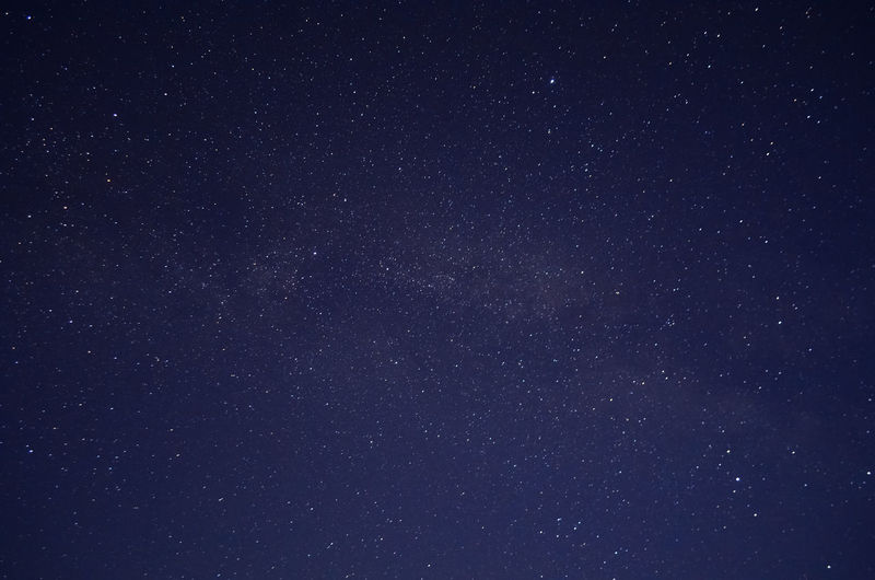 Low angle view of stars against sky at night