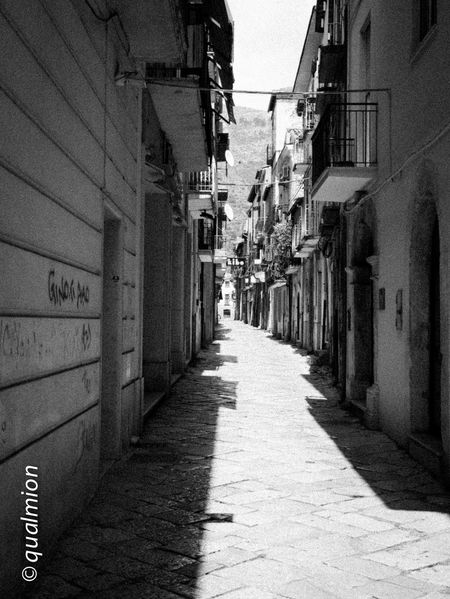 #urbanana: The Urban Playground Ancient City Cobblestone Streets Footpath Street View View Arch Black And White Building Exterior Cobblestone Day Diminishing Perspective Empty Old Buildings Old City Outdoors Perpective Residential District Stone Stone Material Street The Way Forward Town Urban