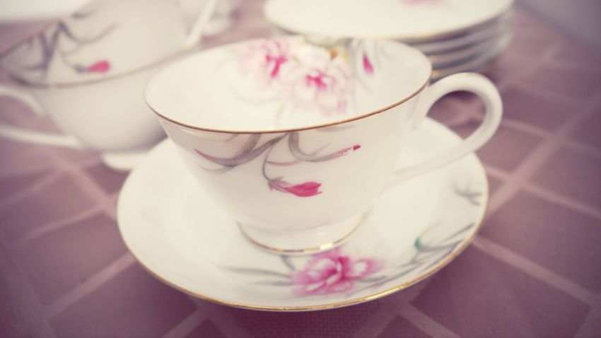 This beautiful set of six is now available at The Blossomed Rose. Link in bio. Vintage Vintage Tableware Teacups Vintage Teacups