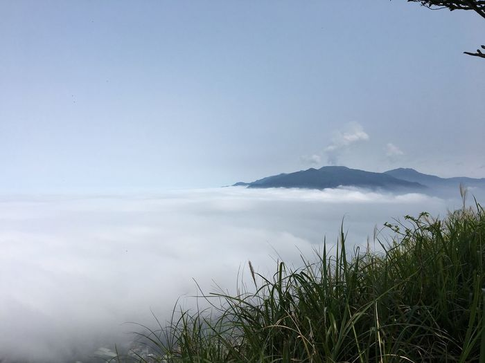Nature Grass Scenics Sky Beauty In Nature Mountain Tranquility Tranquil Scene Water Sea Plant Outdoors Landscape No People Day
