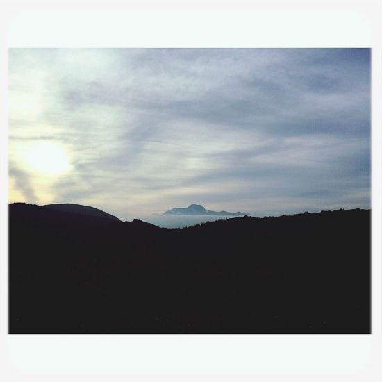 妙高山 Sunset Fromthetrails Clouds And Sky