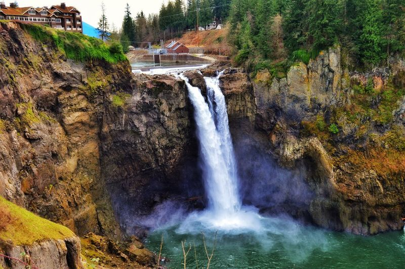 Snowqualmiefalls EyeEm Nature Lover Landscape_Collection Nature_collection Naturelovers From My Point Of View Waterfall PNW Exploring Beautiful Nature