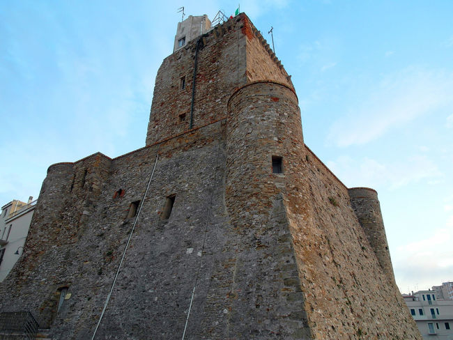 View of the castle of Termoli Castle Termoli  Ancient Ancient Civilization Architecture Building Exterior Built Structure Heritage Heritage Building History Italy Low Angle View Molise Old Old Ruin Outdoors Sky The Past Tower Travel Destinations