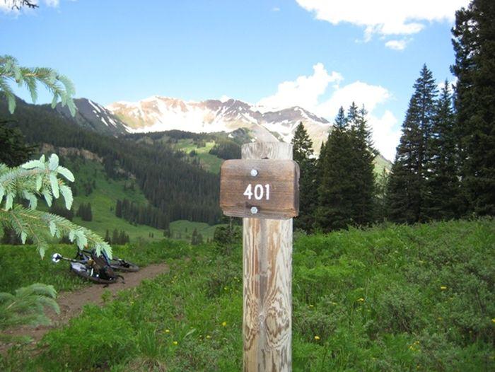 401 Trail Landscape Mountain Mountain Biking No People Outdoors Relaxing Moments