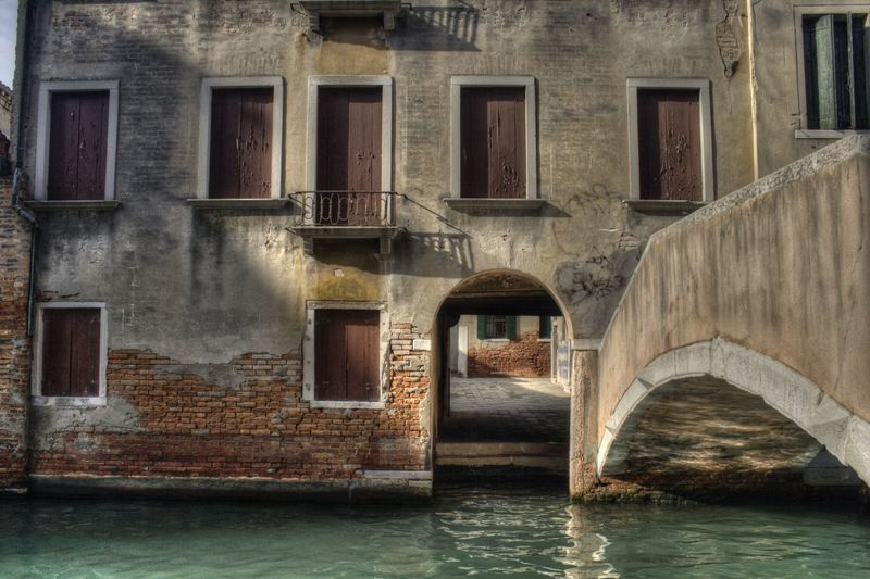Venice Canals Venice, Italy Architecture Bridge Bridge - Man Made Structure Building Exterior Built Structure Canal Day No People Outdoors Venice Water Waterfront