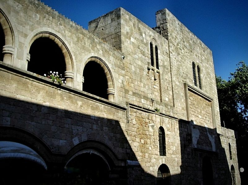 Old building. Rhodes. Arch History Architecture Built Structure Old Ruin Travel Destinations Ancient Travel The Past Low Angle View Ancient Civilization Tourism Architectural Column Amphitheater Day Outdoors Ancient History No People Rodos Greece