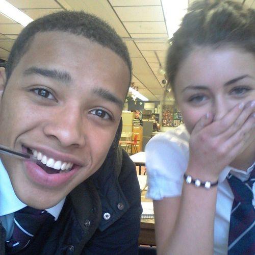 Me and Annie in art class Memories . Schooldays 2012