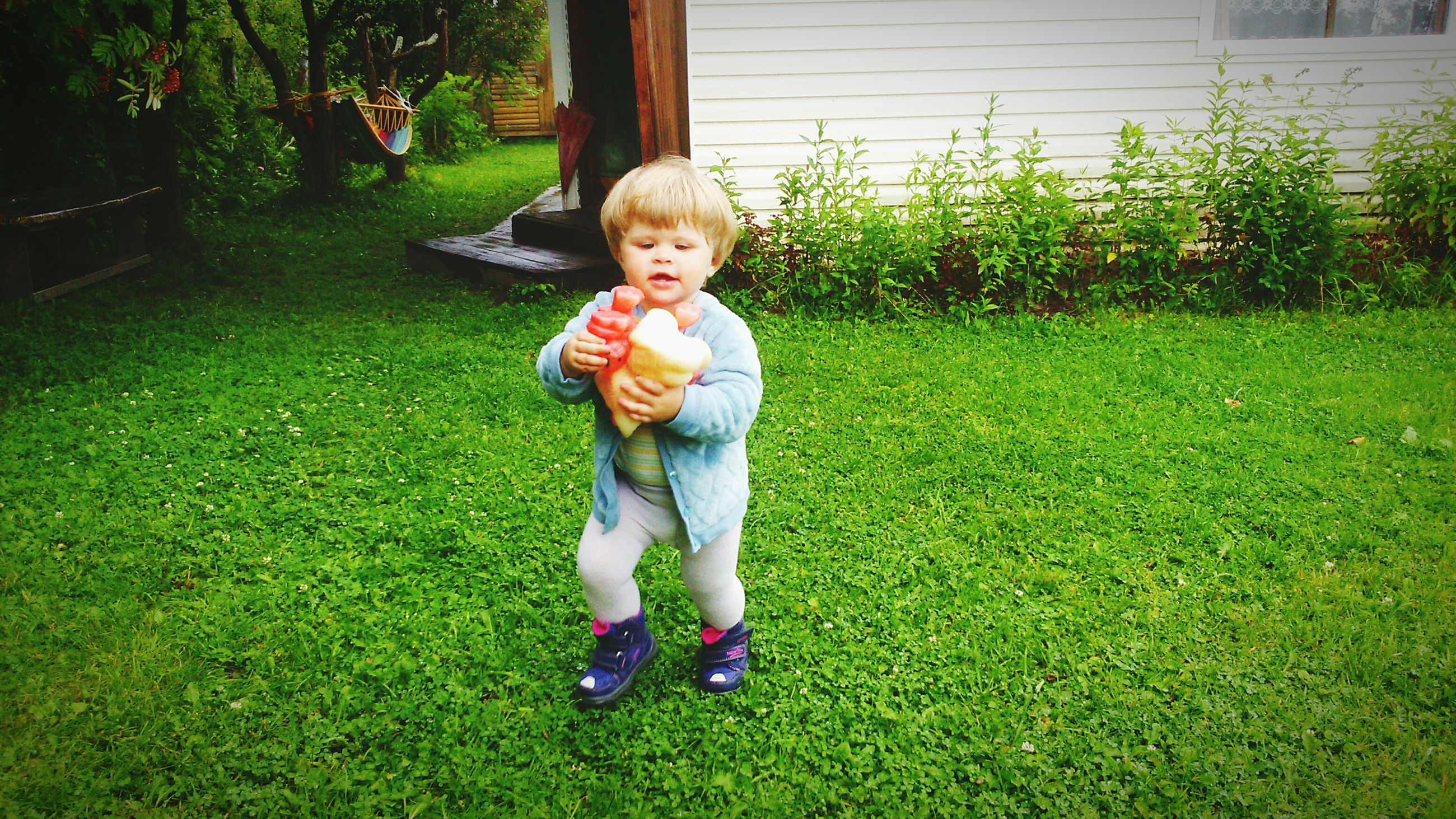 childhood, person, grass, elementary age, cute, full length, innocence, casual clothing, girls, portrait, boys, lifestyles, happiness, smiling, green color, playful, leisure activity, park - man made space, playing, grassy, fun, lawn, front or back yard, day, enjoyment, outdoors