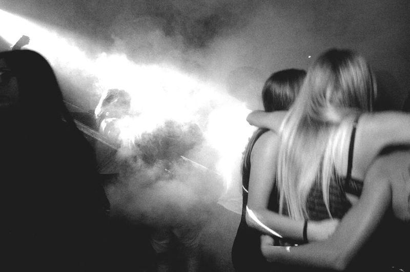 Adrenaline Junkie Black&white B&w Disco Fun Dance Lights Grain Absëst