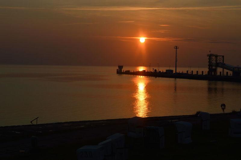 Abendstimmung Am Meer Nordsee Sonnenuntergang ❤ Sunset