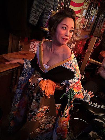 My friend Yoko.