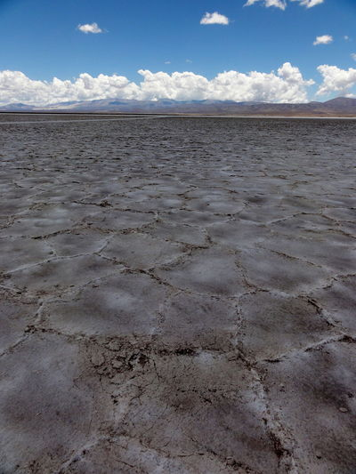 Scenic view of salinas grandes