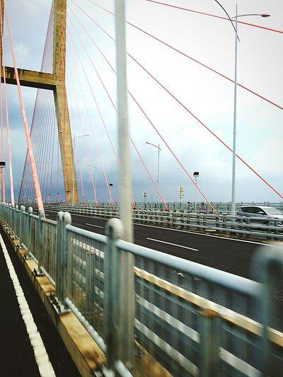 Suramadu Bridge Surabaya Mobilephotography Indonesia_allshot Indonesian