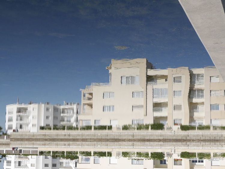 Architecture Building Exterior City Day Lakeside Modern Reflection Tunis Tunisia