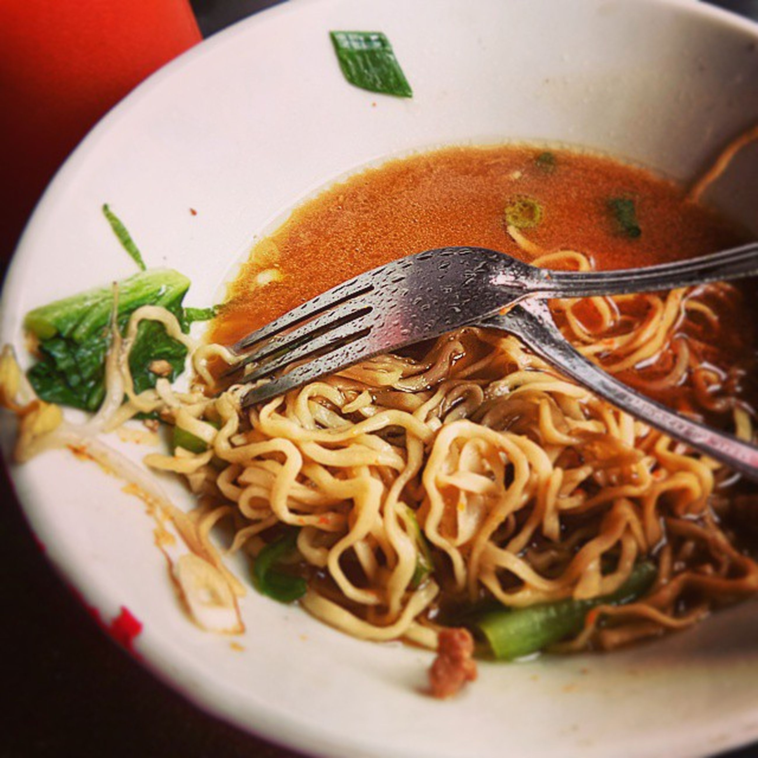 food and drink, food, indoors, freshness, healthy eating, ready-to-eat, plate, bowl, meal, close-up, noodles, serving size, still life, soup, spoon, vegetable, cooked, indulgence, seafood, table